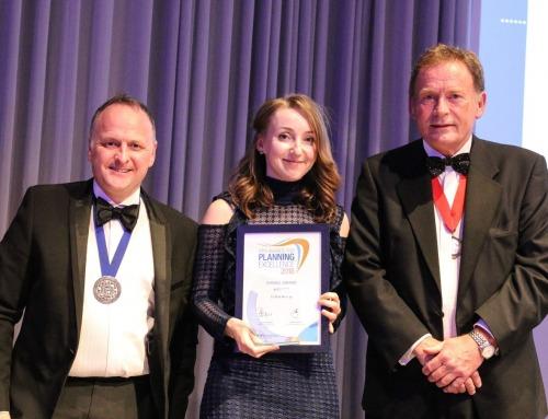 Caitlin Newby wins Planning Award