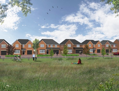NEW HOMES FOR COUNTY DURHAM VILLAGE GET GREEN LIGHT